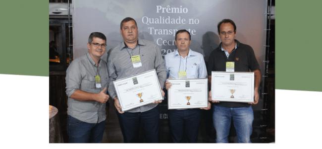 PRÊMIO MELHORES NO TRANSPORTES CECRISA S.A 2017