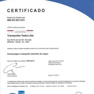 Empresa iso 9001 certificada