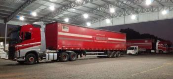 Transportadora de carga fracionada em sp
